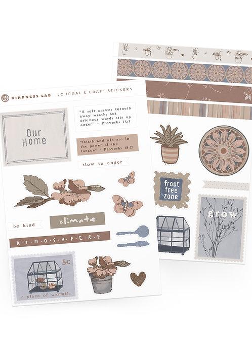 Kindness Lab -Sticker Set