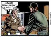 Weeks meets the Unknown Commander in The Return of Colonel Weeks