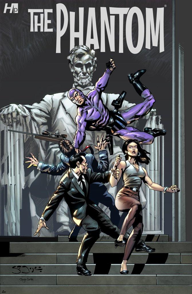 "Hermes Press ""The Phantom"" #1A - Sean Joyce"