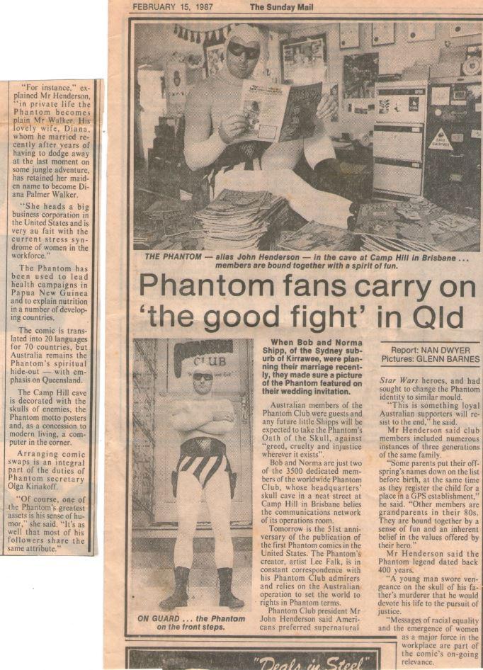Sunday Mail - February 15, 1987