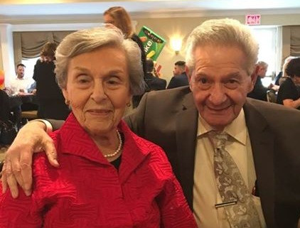 Simmy and Sy - together for over 68 years!