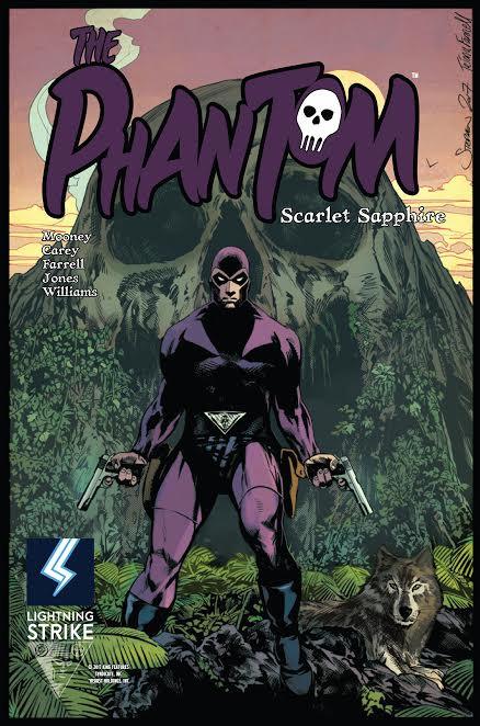 The Phantom: Scarlet Sapphire (cover art Stephen Mooney)