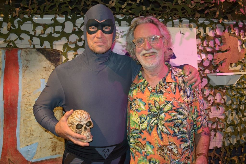 The Phantom & Dick Frizzell