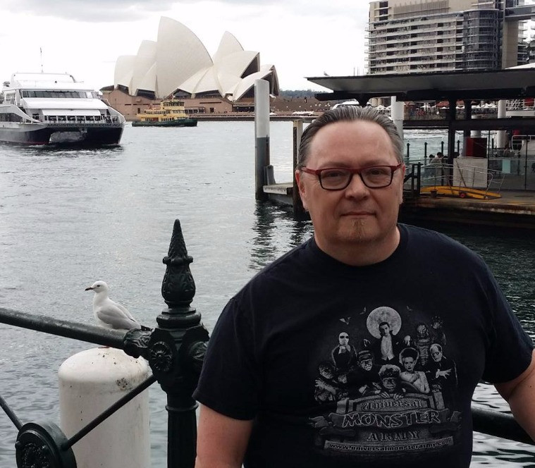 Terry during his visit to Australia in 2015