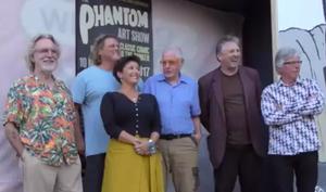 Dick Frizzell, Sam Chapman, Nanette Backhouse, Peter Kingston, Euan MacLeod & Dietmar Lederwasch