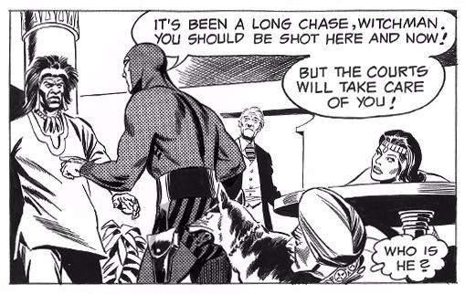 """Scene from """"Mystery of Kula-Ku"""" Feb 28 1976"""