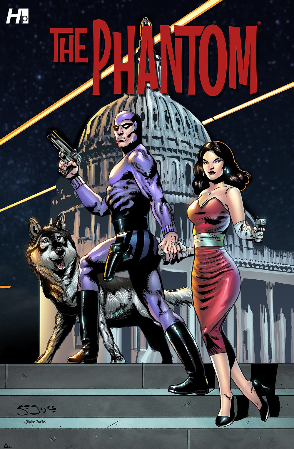"Hermes Press ""The Phantom"" #1B - Sean Joyce"