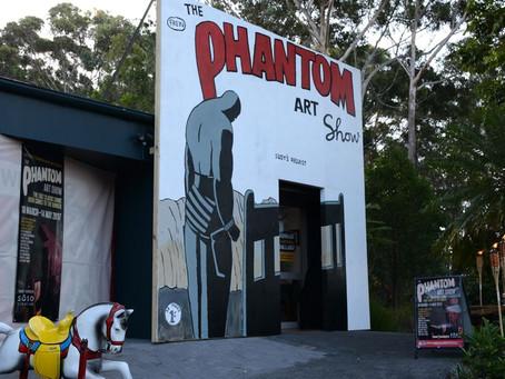 Phantom Art Show Opens at the Bunker