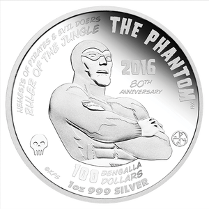 The back of the coin showing the details