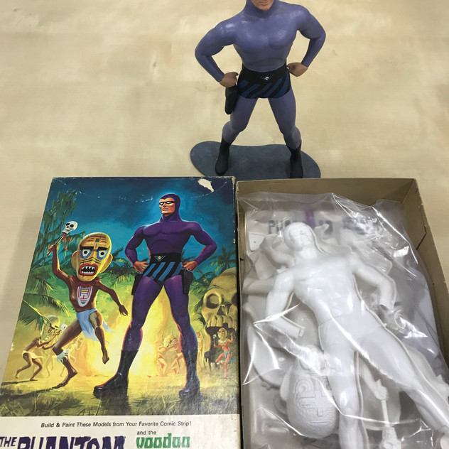 Plastic Model Kit with completed model, 1966