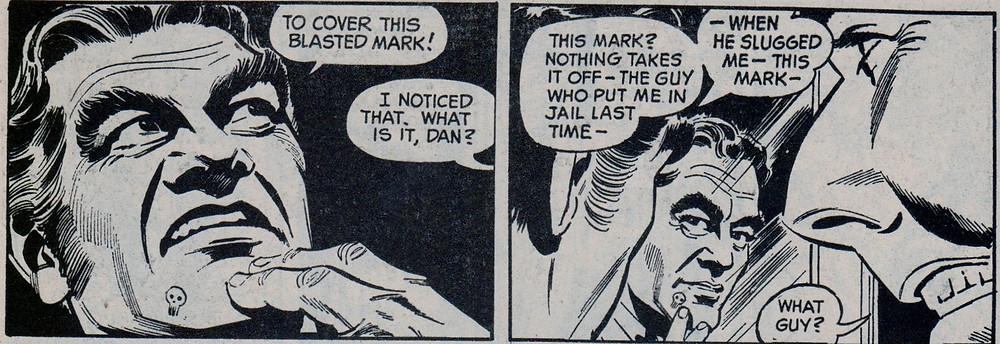 """Dan the villain in """"The Masked Ball"""""""