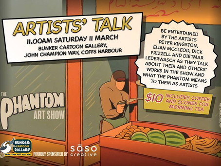 The Artists' Talk for the Ghost Who Walks