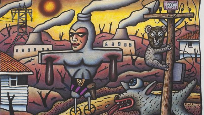 """""""Prosthetic Phantom"""" by Reg Mombassa"""
