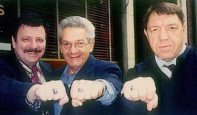 Ed Rhoades, Sy Barry & Pete Klaus