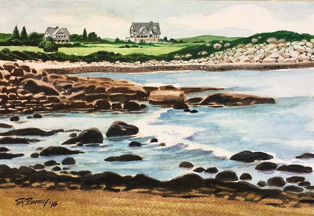 Sy Barry watercolour (2016)