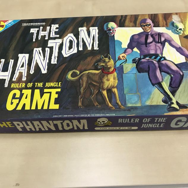 Phantom Board Game (Transogram) 1972