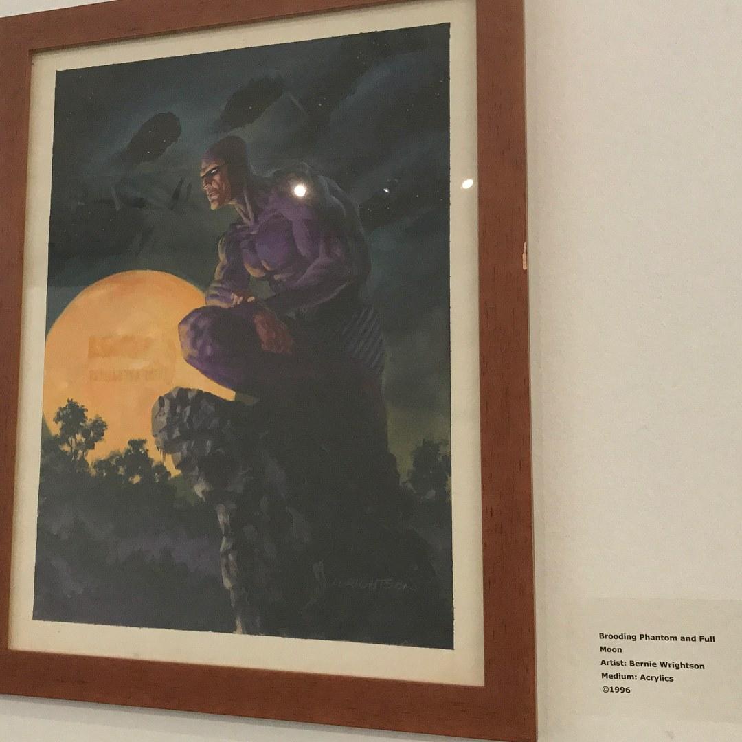 Brooding Phantom and Full Moon