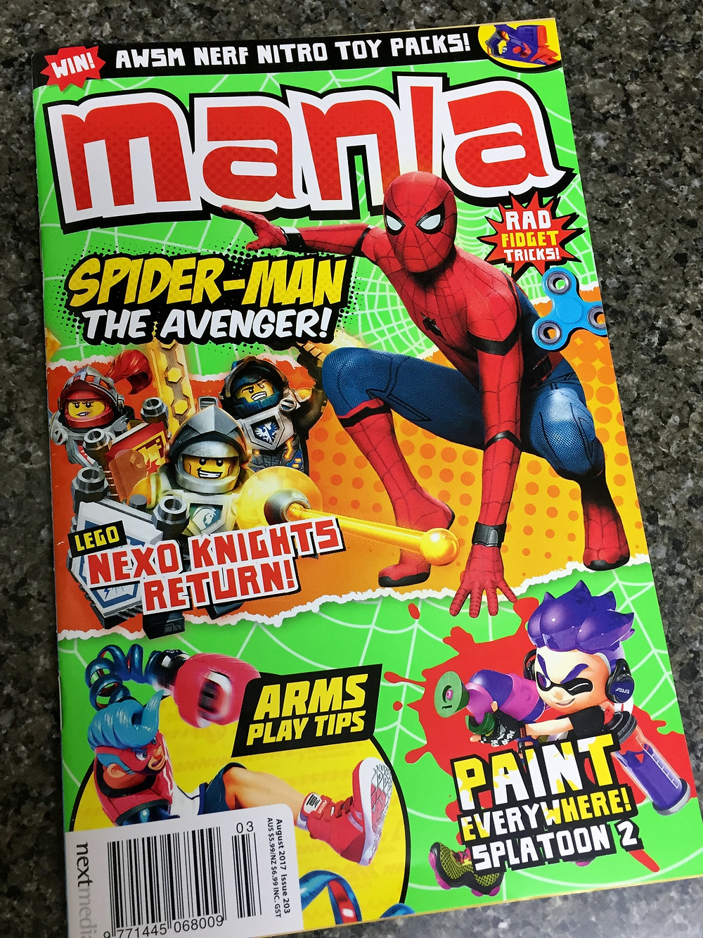 Mania #203 - August 2017