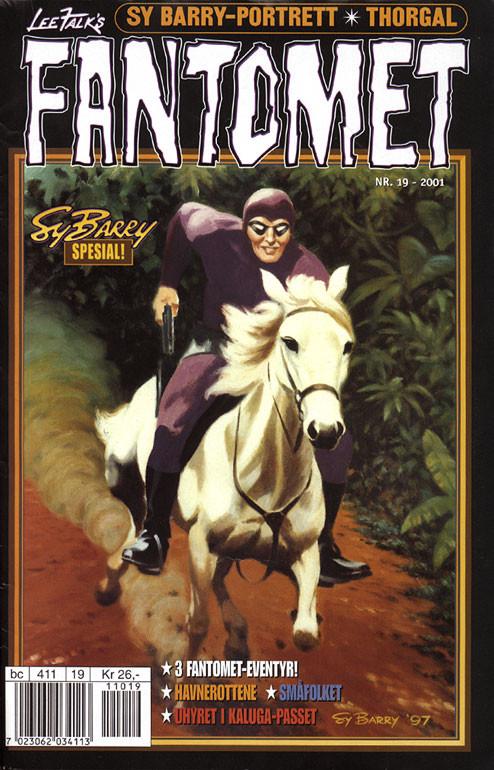 Fantomen's 19/2001 Norwegian cover
