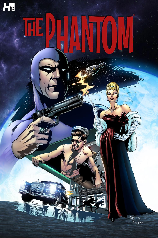 """Hermes Press """"The Phantom"""" #1 - Scott Brooks"""