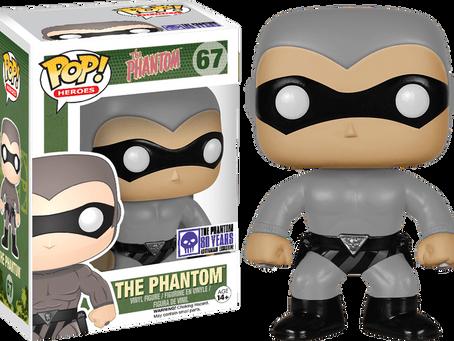 The Phantom 80th Anniversary Grey Pop! Vinyl