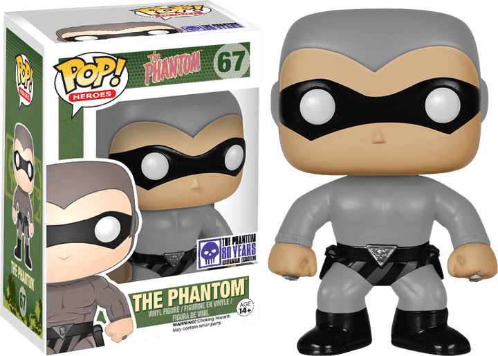Grey Phantom Pop Vinyl released to celebrate the 80th Anniversary of the Phantom
