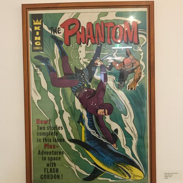 The Phantom and Shark King Cover Poster, 1972