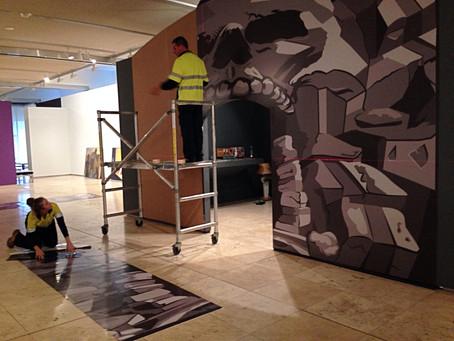 Newcastle Art Show Taking Shape