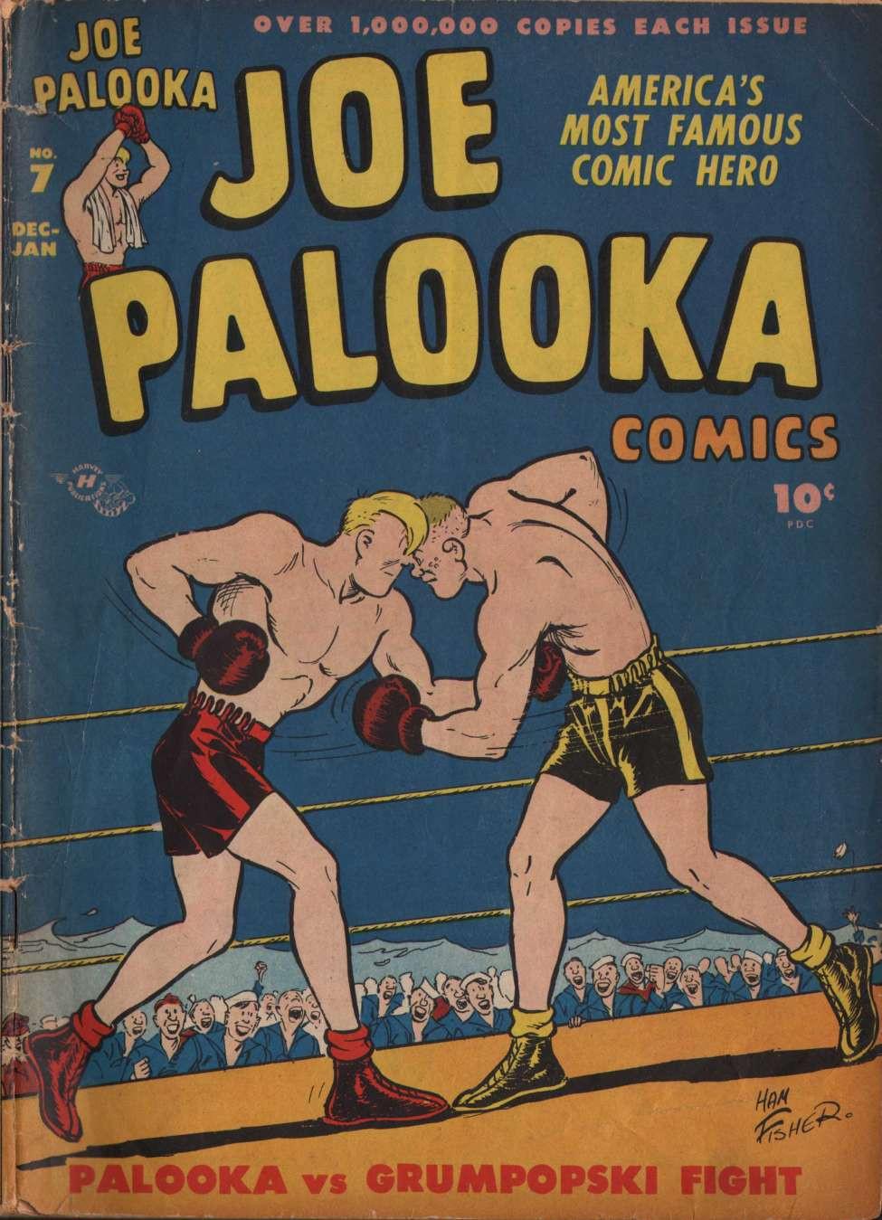 1946 Harvey Comics Joe Palooka #7