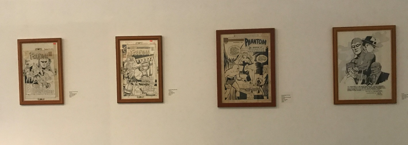 Various newspaper daily strips and past up covers, 1950s to 1970s