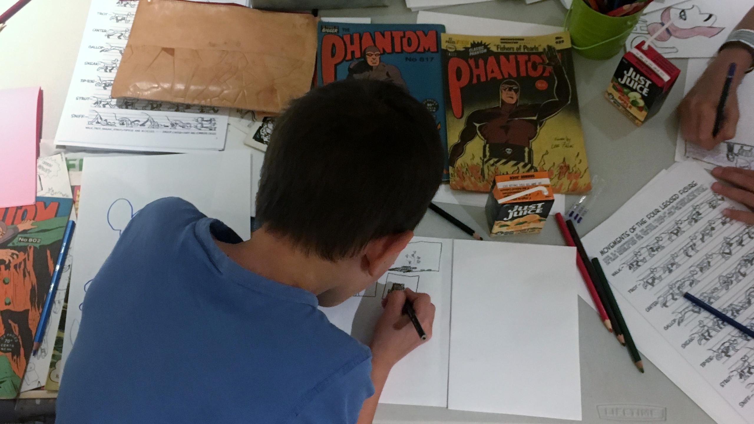 KAA School Holiday Phantom Workshop Sept 2017