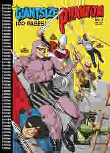 Glenn Lunsden's cover for the new Giantsize Phantom #1