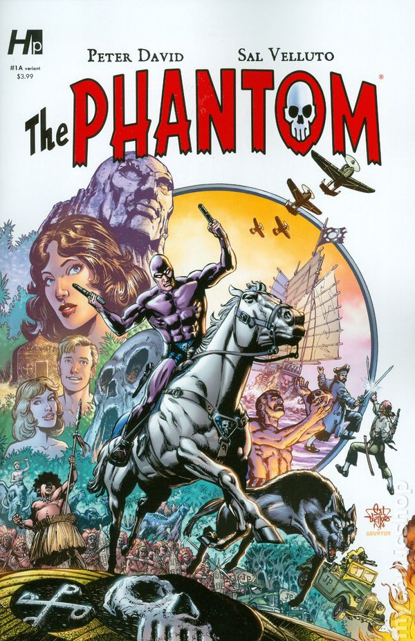 Variant cover #1A - Also used for The Phantom TPB