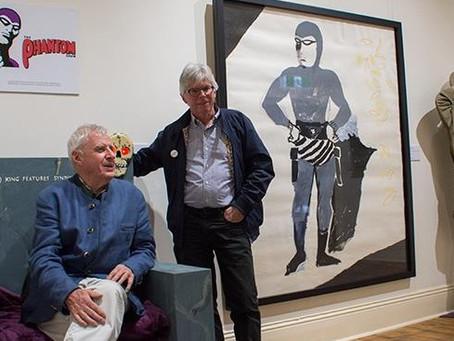 The Phantom Art Show is in Broken Hill