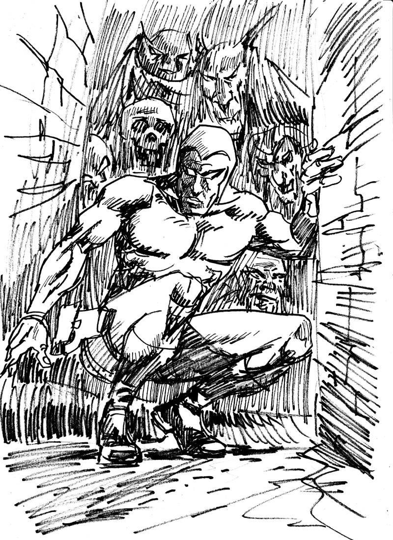 """Crouching Phantom, hidden ghouls"""