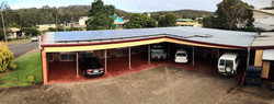 Solar powered Motel Rooms