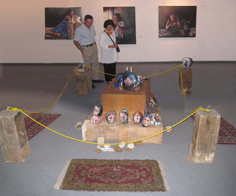 Iranian women on display III