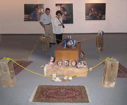 Iranian women on display III