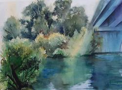 Golan journal 2020- Arik Bridge