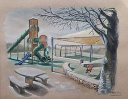 Corona journal- Empty park