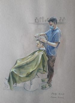 Corona journal- Barber shop