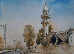 Golan journal 2020- Old Mosque