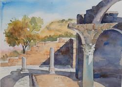 Golan journal 2020- Ancient church