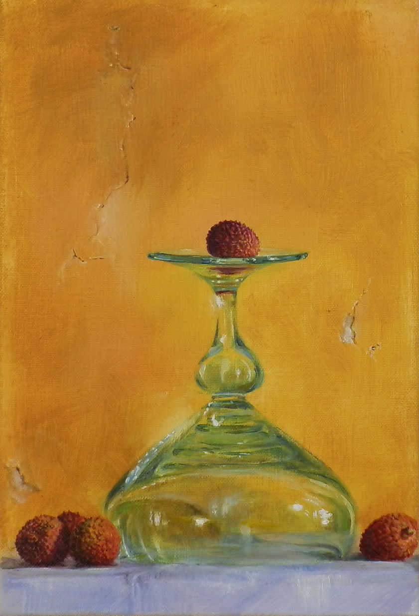 Glass and Fruit III