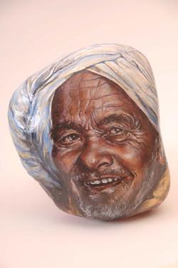 Man in White Turban