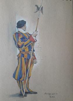 Rome journal- Swiss guard