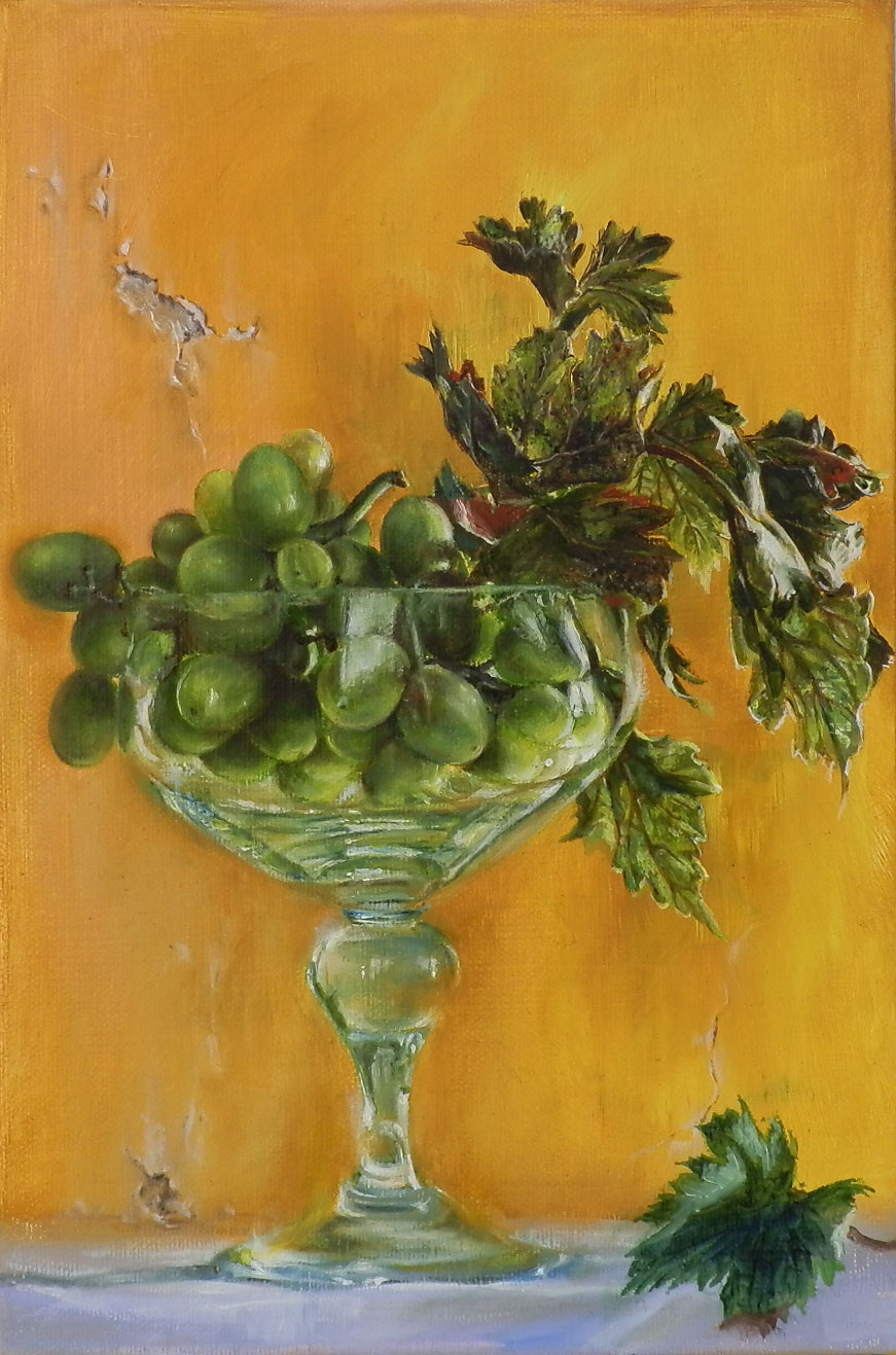 Glass and Fruit I