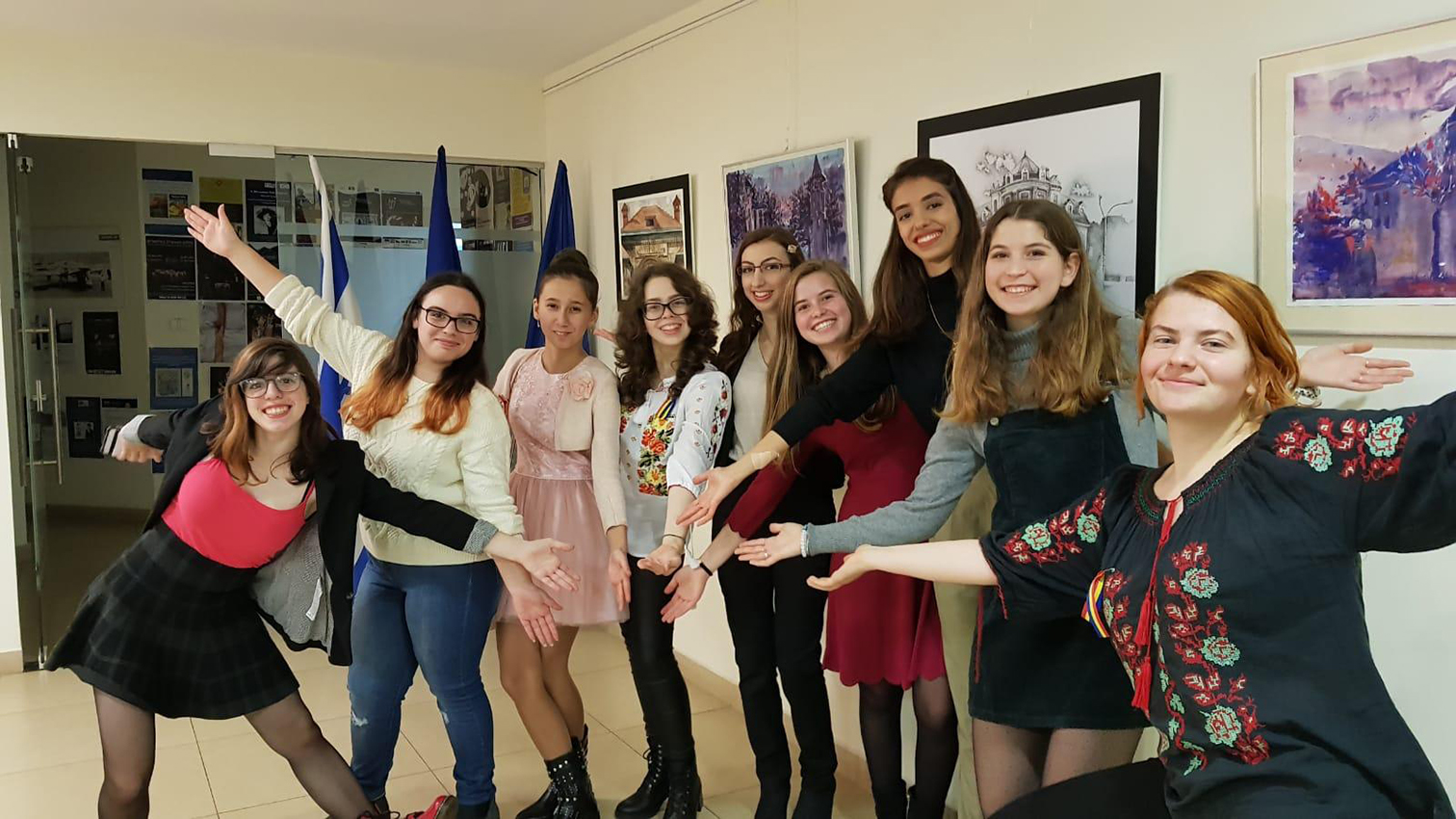 Exhibition in The Romanian Embassy i