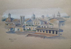Rome journal- Rooftops