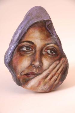 Woman in Purple I